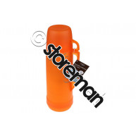 Bouteille Isotherme 1 L Plastique3 Assortiments Coloris Jaune-Orange-Vert - 500797 - Gers Equipment