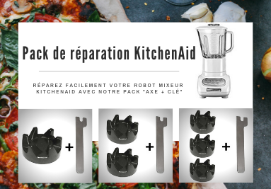 Pack de réparation KitchenAid